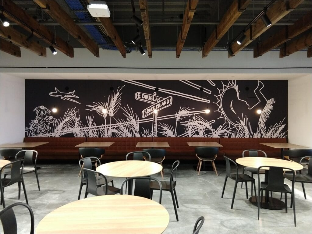 Cargill Lunch Room Wall Graphics 1