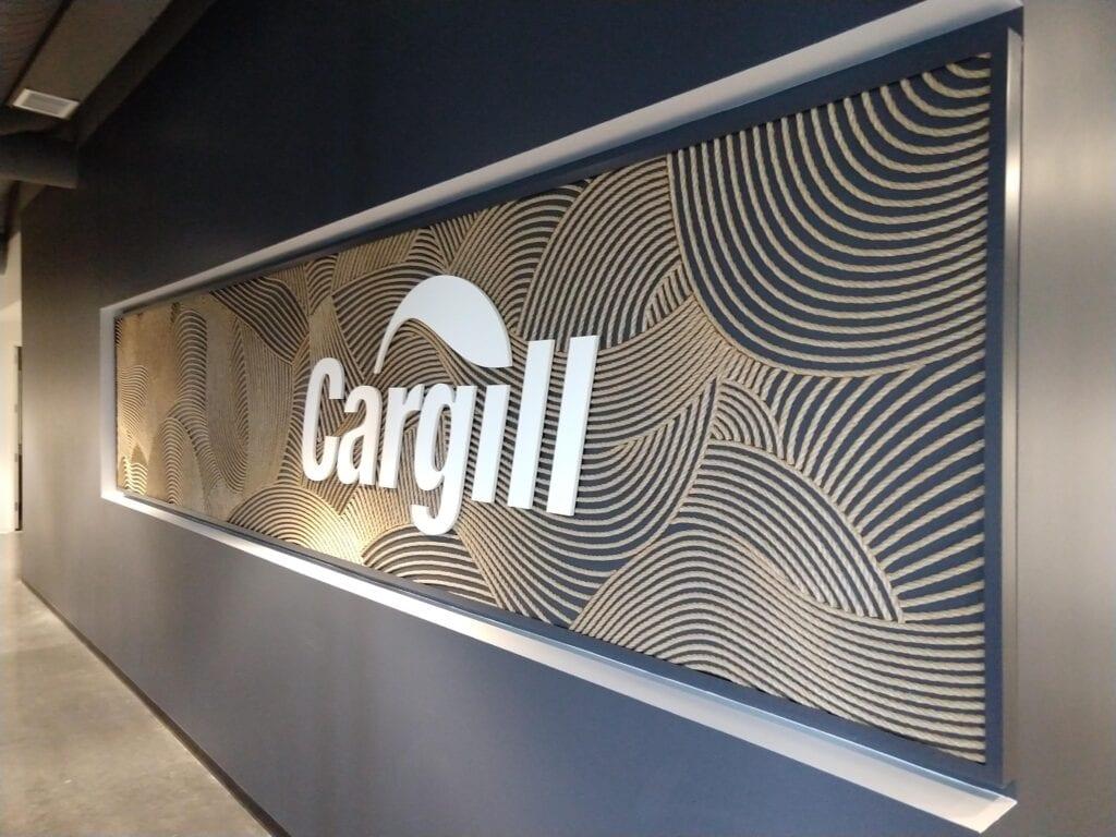 Cargill Rope wall logo
