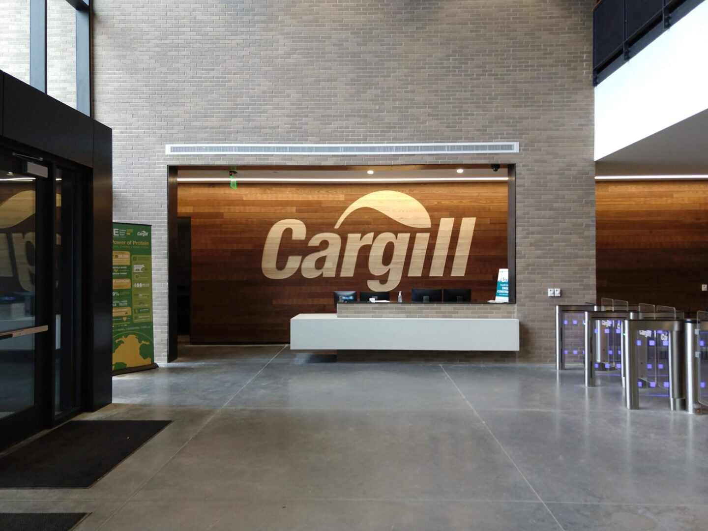 Cargill Routed Cargill Logo Wood Wall