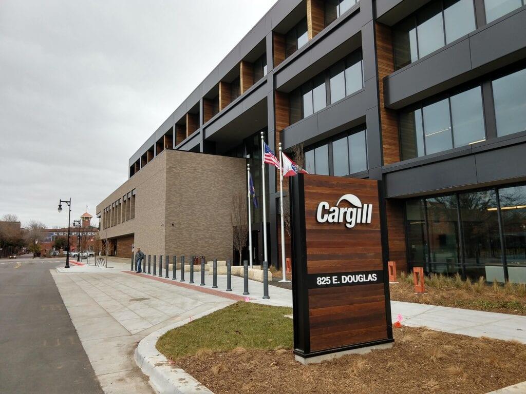 Cargill exterior Monument 1