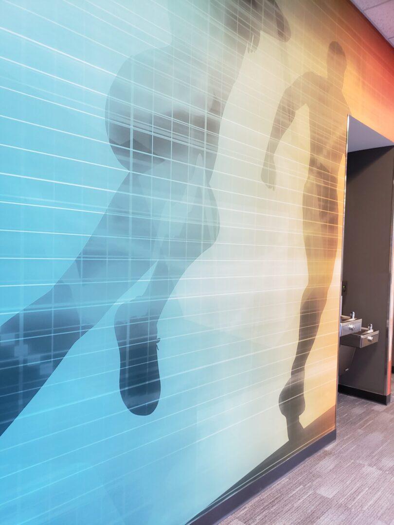 PIVOT Fitness Wall Graphic