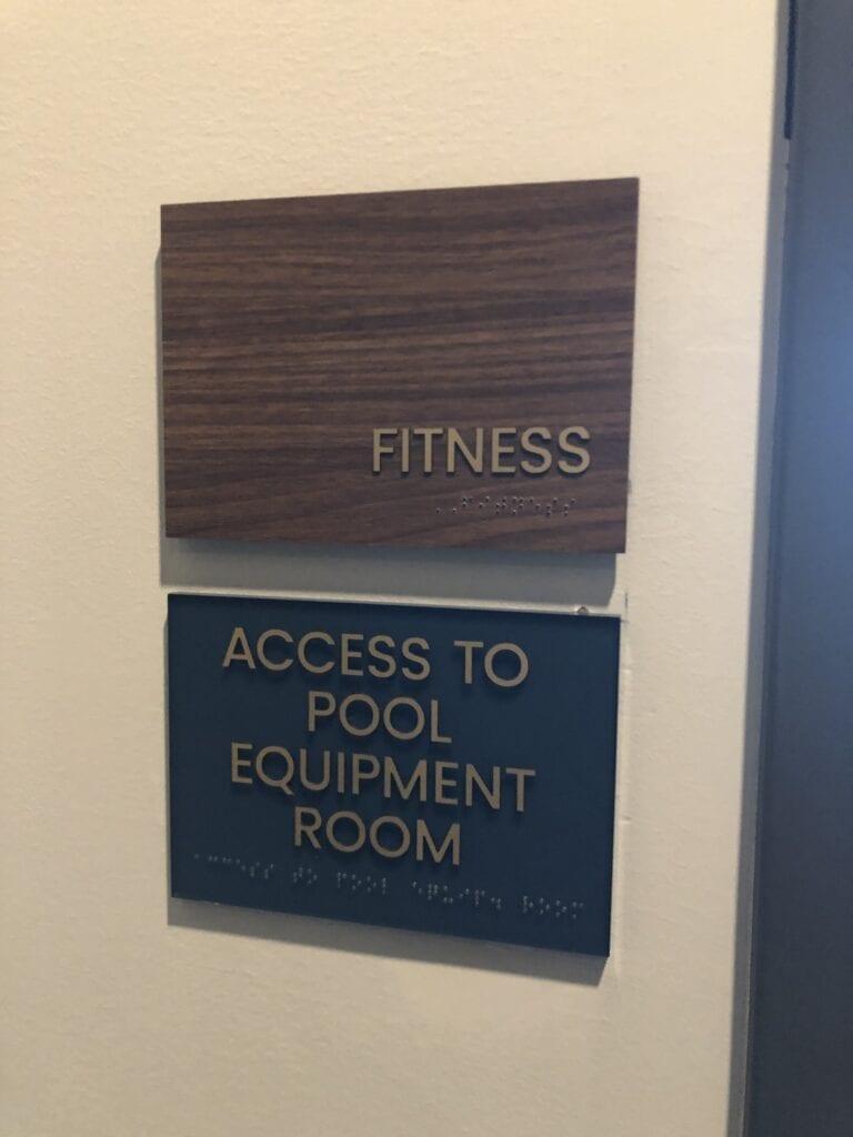 Harper ADA Room Sign