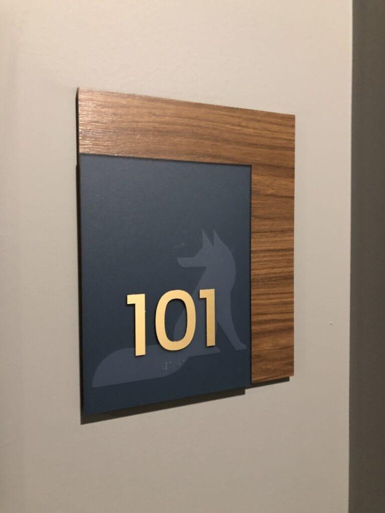 Harper ADA Suite Sign