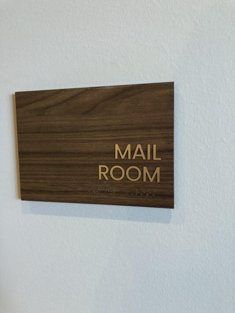 Harper Room ID Sign.1