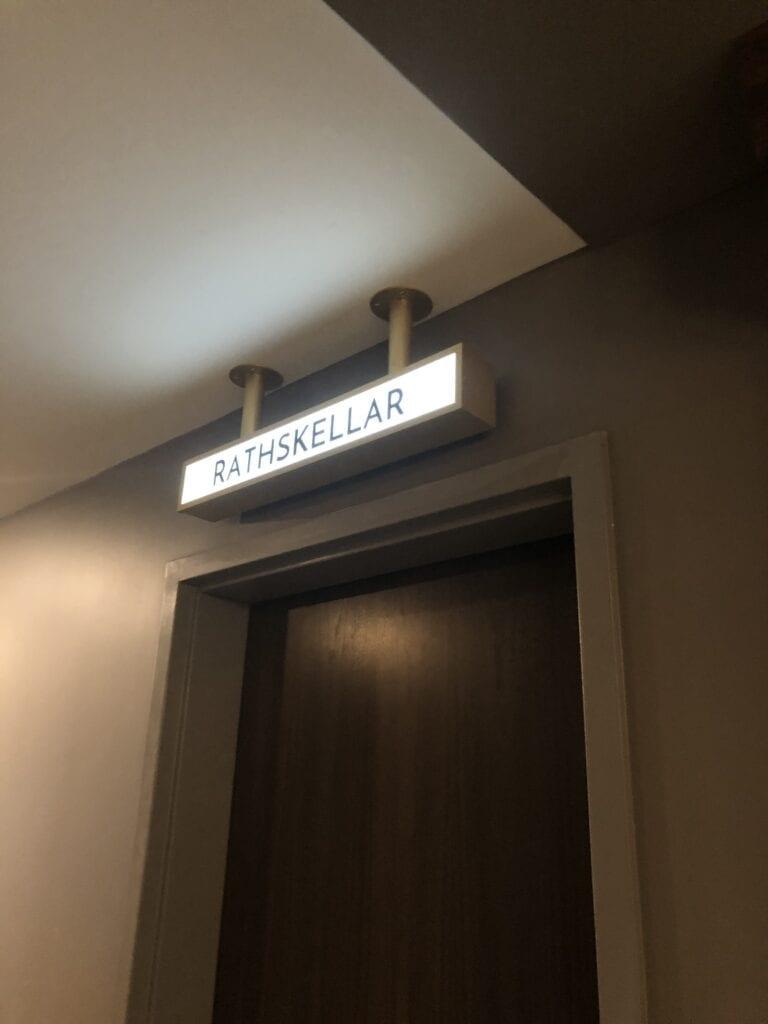 Interior Lit Amenity Cabinet