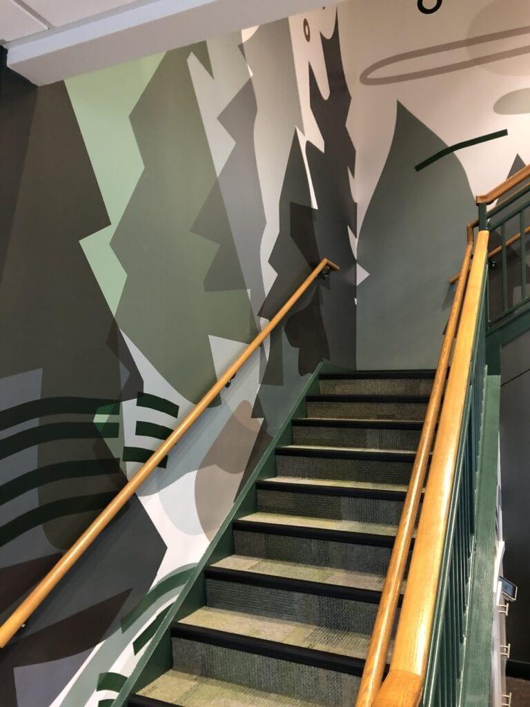 Tubman Stair 1